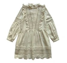 Forget me not dress in White lace
