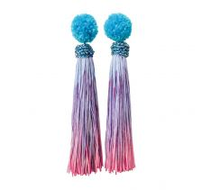 Funfair Tassel Earrings | Ricardo Rodriguez