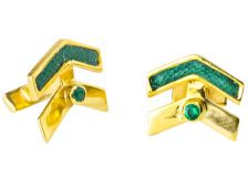 Isabel Englebert Gladiator Earrings Gold