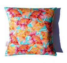 Glorious Goldfish Cushion | Chloe Croft