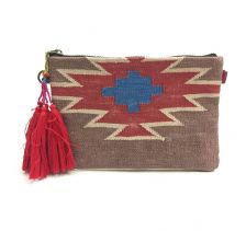 Goa Aztec Rug Pouch Clutch | Ethnique PH