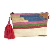 Goa Boho Rug Pouch Clutch | Ethnique PH