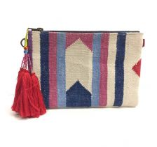 Goa Geometric Rug Pouch Clutch | Ethnique PH