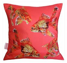 Goldfish Gaggle Cushion | Chloe Croft