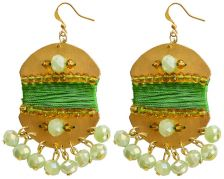 Ricardo Rodriguez Green Papua Earrings