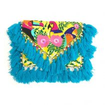 Holi Blue Clutch | Ethnique PH