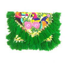 Holi Green Clutch | Ethnique PH