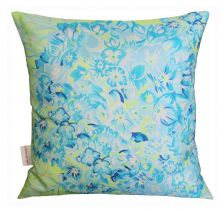Hydrangea Lime Cushion | Chloe Croft