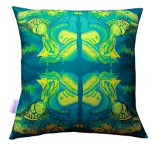 Illusive Iguanas Cushion | Chloe Croft