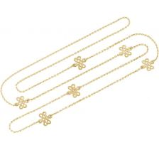 Tulola Infinity Knot 18k Gold Plated Necklace