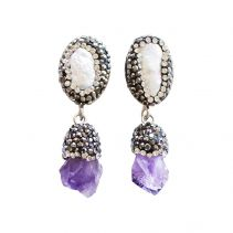 Jupter Ice Earrings | Ricardo Rodriguez