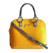 Kufer Yellow Leather Bag