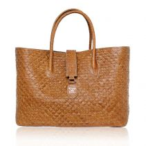 Large Carryall Leather Bag