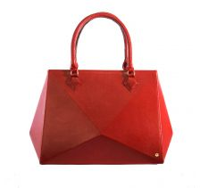 Hexella Large Tote Ruby Bag | The Warp