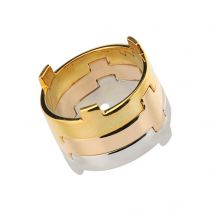 Legoo Ring Gold | Afew Jewels