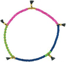 Lilu Multi Color Green Bracelet