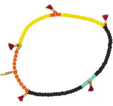 Lilu Multi Color Orange Bracelet