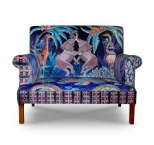 Limited Edition Sabie Sofa in Tanzanite