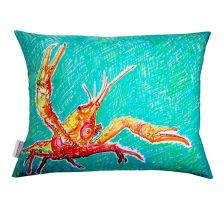 Lucky Lobster Cushion | Chloe Croft