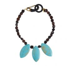 One-of-a-kind Necklace in Agate