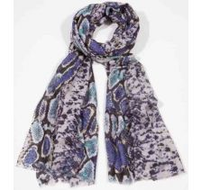 Bindya NY Party Animal Navy Scarf