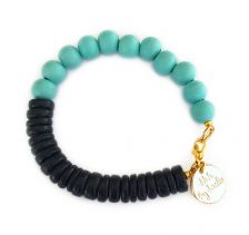 Blue Pop Bracelet | Shh by Sadie
