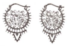 POTC Jewellery Elegant Circular Drop Earrings