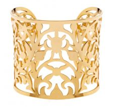 POTC Jewellery Gold Plated Openwork Cuff