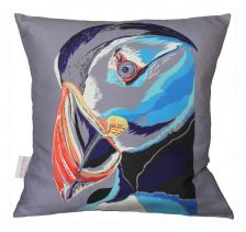 Perfect Puffin Cushion | Chloe Croft