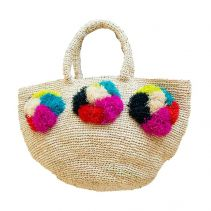 Rainbow & Unicorn Raffia Handbag | The Noces