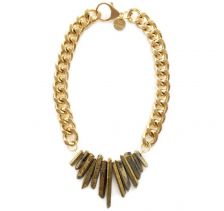 Rocked Up Gold Necklace | Shh by Sadie