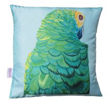 Sultry Parrot Cushion | Chloe Croft