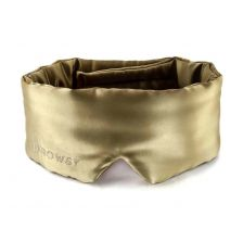 The Mulberry Silk Eye Mask in L'Amour Gold