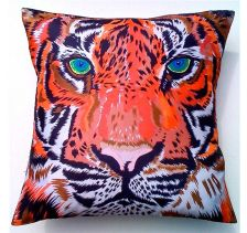 Tiger Cushion | Chloe Croft