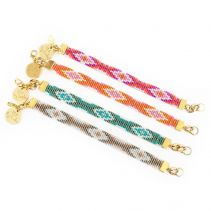 Twilight Bracelet - Pink / Orange / Blue / Gold | Shh by Sadie