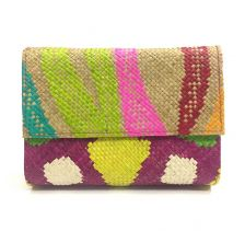 Zamal Neon Straw Clutch | Ethnique PH