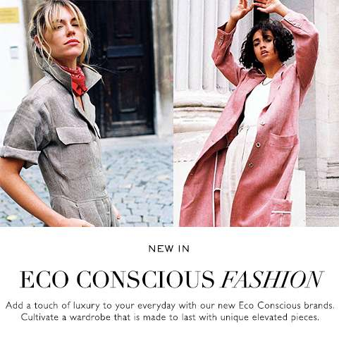 Sarvin New In - ELEVATE YOUR EVERYDAY - With our new go-to picks, from lusurious eco friendly collections to edge of the world pieces.