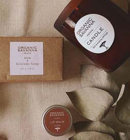 Introducing Organic Savanna, Kenya's most sustainable skincare brand that continues to inspire within the beauty and sustainable industry. An all natural skincare line powered by East African botanicals. Learn more and discover their unique and ethical products and sustainable practices at ilovedesigner.com