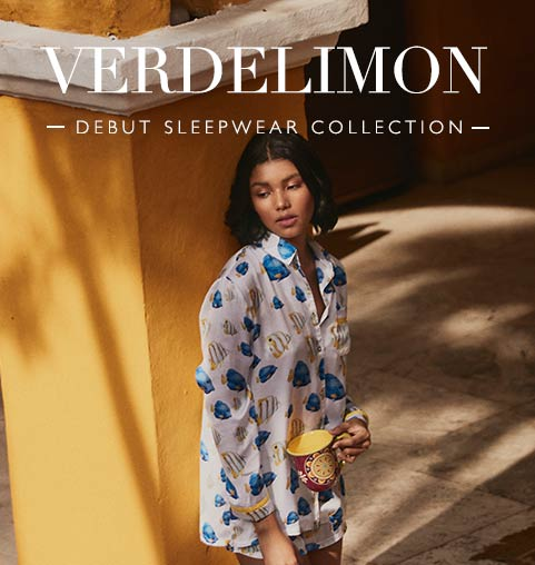 VERDELIMON | DEBUT SLEEPWEAR COLLECTION