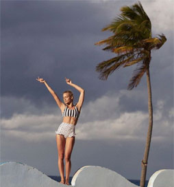 Verdelimon swimwear, swimsuit, beachwear and beach cover up exclusively at ilovedesigner.com